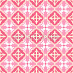 Spanish Tiles Vector Pattern
