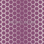 Honeycomb Lattice Seamless Vector Pattern