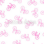Bicyclette Motif Vectoriel Sans Couture