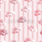 Roses Cottage Motif Vectoriel Sans Couture