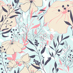 Beauty Of Nature Seamless Vector Pattern Design