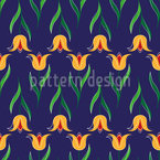 Greeting Tulips Pattern Design
