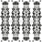 Stake Seamless Vector Pattern Design