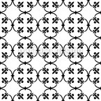 Fleur-de-lis Forging Seamless Vector Pattern Design
