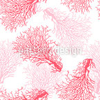 Koralle Vektor Muster