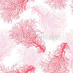 Koralle Nahtloses Vektormuster