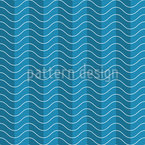Streifen Wellen Nahtloses Vektormuster