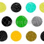 Big Dots Seamless Vector Pattern Design