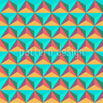 Triangle Stones Seamless Vector Pattern Design