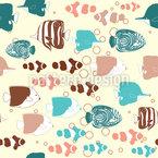Tropische Fische Versammlung Vektor Design