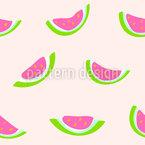 Wassermelone Nahtloses Vektormuster