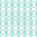 Baroque Bordure Seamless Vector Pattern Design