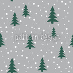O Christmas Tree Seamless Vector Pattern Design