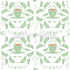 Tea For Two Seamless Vector Pattern