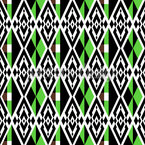 Eye Of The Rhomb Repeating Pattern