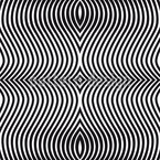 Op Art Zebra Design Pattern