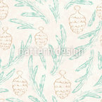 Pine Branch Repeat Pattern