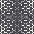 Honeycomb Effects Seamless Vector Pattern Design