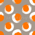 Grunge Circles Repeating Pattern