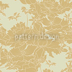 Golden Times Seamless Vector Pattern Design