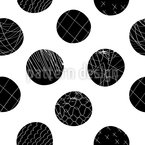 Decorate Large Dots Seamless Pattern