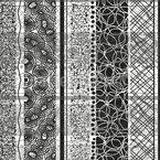 Treffen Von Strukturen Nahtloses Vektormuster