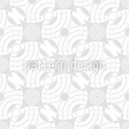 Stone Drops Into Water Seamless Vector Pattern Design