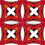 Retro Kreuzstich Vektor Muster