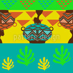 African Vibes Pattern Design