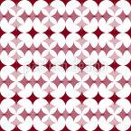 Star Crossover Seamless Vector Pattern Design