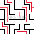 Pathfinding Seamless Vector Pattern Design
