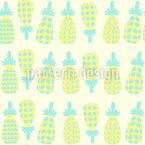 Ananas Spass Nahtloses Muster