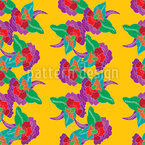 Eastern Folklore Seamless Vector Pattern Design