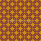Flower Grid Pattern Design