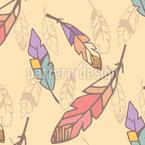 Papageienfedern Vektor Muster