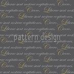 Liberta Cicero Muster Design