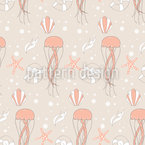 Underwater Scenery Seamless Vector Pattern Design