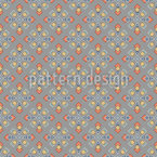 Rhombus Spreading Out Seamless Vector Pattern Design