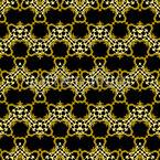 Zig Zag de pele animal Design de padrão vetorial sem costura