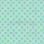 Floral Weave Seamless Vector Pattern Design