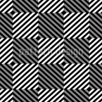 Psychedelic Chess Seamless Vector Pattern Design