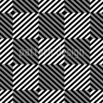 Psychedelisches Schach Nahtloses Vektor Muster