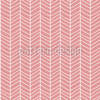 Chevron Doodle Estampado Vectorial Sin Costura