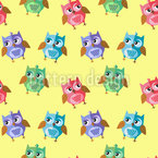 Owl Kids Pattern Design