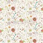 Floral Inspiration Vector Pattern