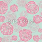 Rosenblüten Rosa-Mintgrün Rapport