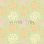 In Etwa Rund Muster Design