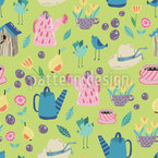 My Sunny Garden Seamless Vector Pattern Design