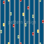 Tiny Highway Seamless Vector Pattern