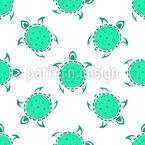 Tribal Schildkröten Designmuster